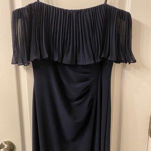 Brand New evening off shoulder maxi dress